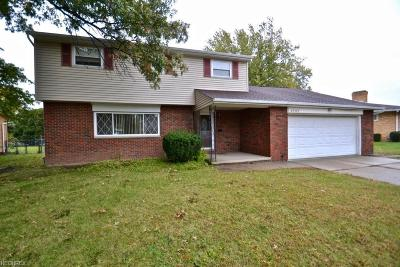 Parma Heights Single Family Home For Sale: 6787 Anthony Ln