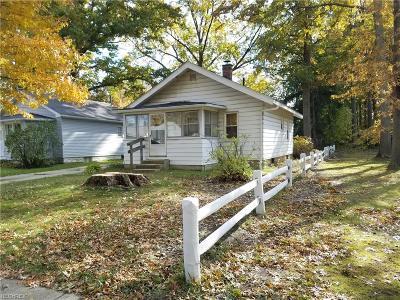 Ashtabula Single Family Home For Sale: 2318 West 11th St