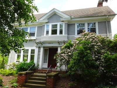 Cuyahoga County Single Family Home For Sale: 2253 Chatfield Rd