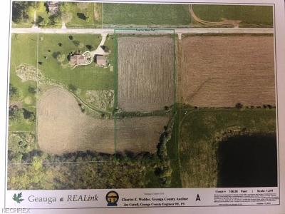Geauga County Residential Lots & Land For Sale: Taylor-May Rd. Rd