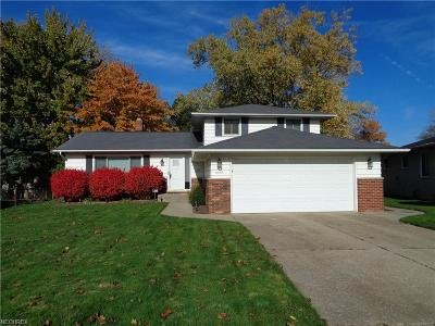Mayfield Heights Single Family Home For Sale: 6355 Piercefield Dr