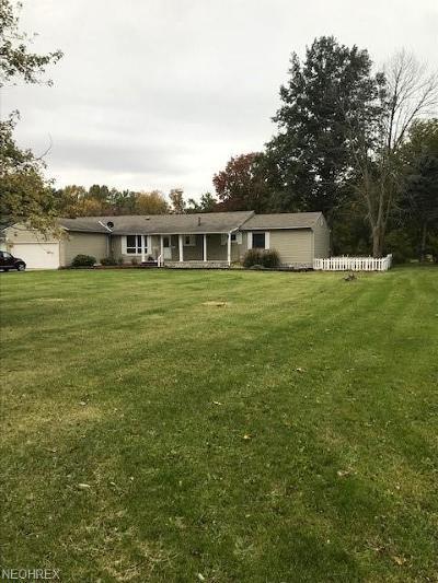Lorain Single Family Home For Sale: 2390 North Leavitt Rd