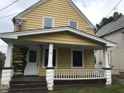 Cleveland Single Family Home For Sale: 3002 Roanoke Ave
