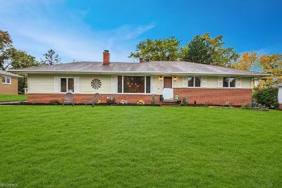 Brecksville Single Family Home For Sale: 6855 Oakes Rd