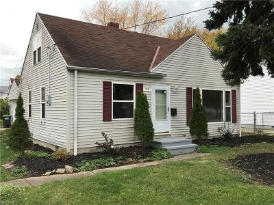 Wickliffe Single Family Home For Sale: 970 Worden Rd