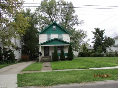 Lorain Single Family Home For Sale: 1105 West 11th St