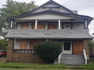 Cleveland Multi Family Home For Auction: 1003 Eddy Rd