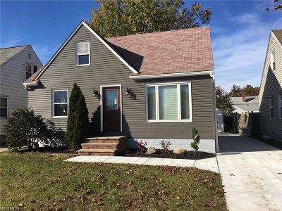 Wickliffe Single Family Home For Sale: 29021 Weber Ave