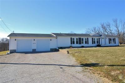 Single Family Home For Sale: 3832 Chandlersville Rd