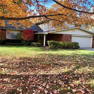 Beachwood Single Family Home For Sale: 2456 Brian Dr