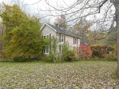 Ashtabula County Single Family Home For Sale: 3505 North Broadway