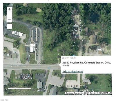 Columbia Station Residential Lots & Land For Sale: 26530 Royalton Rd