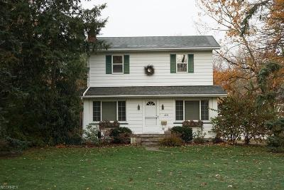 Rocky River Single Family Home For Sale: 2770 Wagar Rd