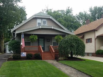 Cleveland Single Family Home For Sale: 4482 West 14th St