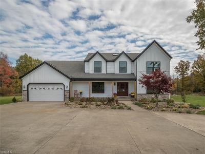 Salem Single Family Home For Sale: 9825 Salem Warren Rd