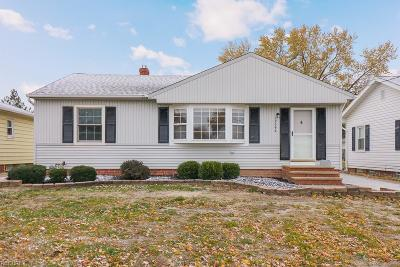 Wickliffe Single Family Home For Sale: 29944 Truman Ave