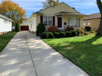 Willowick Single Family Home For Sale: 563 Dickerson Rd