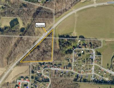 Zanesville Residential Lots & Land For Sale: Northpointe Drive- 9.2 Acres M/L