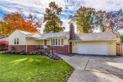 Cuyahoga County Single Family Home For Sale: 4914 West Ash Rd