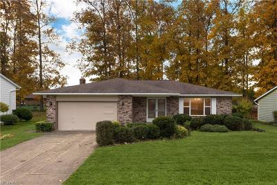 Parma Single Family Home For Sale: 8665 Newcomb Dr