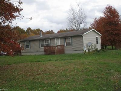 Ashtabula County Single Family Home For Sale: 6762 Bogue Rd