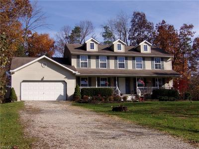 Zanesville Single Family Home For Sale: 830 Schlaegel Dr