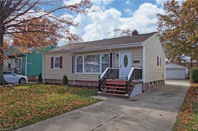 Wickliffe Single Family Home For Sale: 1558 Empire Rd