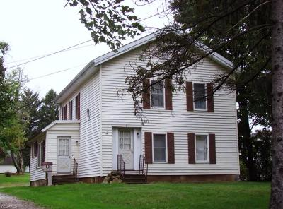 Garrettsville Single Family Home For Sale: 10883 North St