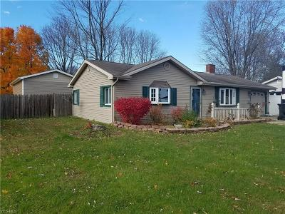 Austintown Single Family Home For Sale: 2822 Redgate Ln