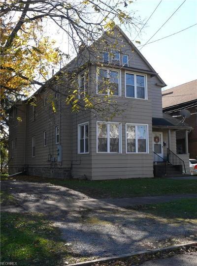 Girard Multi Family Home For Sale: 105 - 107 Main St