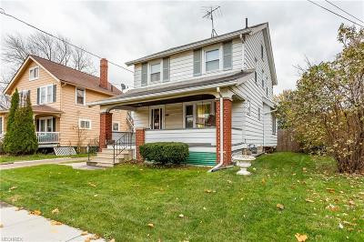 Lorain OH Single Family Home For Sale: $68,000