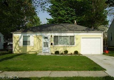 Mayfield Heights Single Family Home For Sale: 1161 Genesee Ave