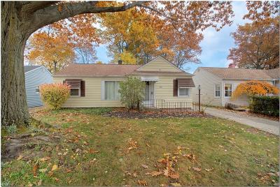 Mayfield Heights Single Family Home For Sale: 1185 Orchard Heights Blvd