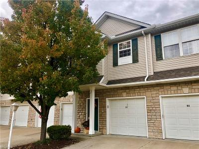 Cuyahoga County Condo/Townhouse For Sale: 5150 Whispering Oaks Blvd #C2