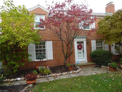 Cuyahoga County Single Family Home For Sale: 22061 Westchester Rd