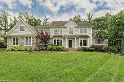 Geauga County Single Family Home For Sale: 7585 Trails End