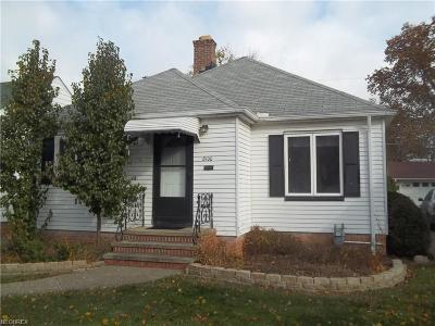 Parma Single Family Home For Sale: 8100 Dresden Ave