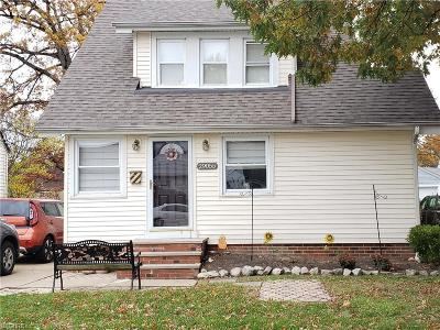 Willowick Single Family Home For Sale: 29055 Barjode Rd