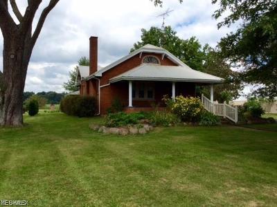 Single Family Home For Sale: 21382 Harrisburg Westville Rd