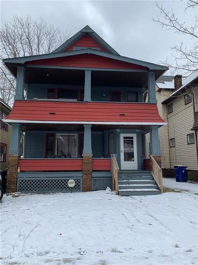 Cuyahoga County Multi Family Home For Sale: 1919 West 71st St