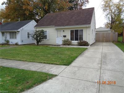 Cleveland Single Family Home For Sale: 11907 Longmead Ave