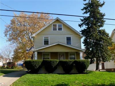 Girard Single Family Home For Sale: 421 North Saint Clair St