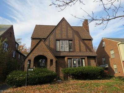 Cuyahoga County Multi Family Home For Sale: 3656 Latimore Rd