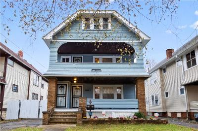 Cleveland Multi Family Home For Sale: 3507 West 100th St