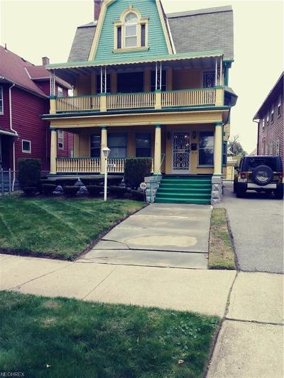 Cuyahoga County Multi Family Home For Sale: 8017 Whitethorn Ave