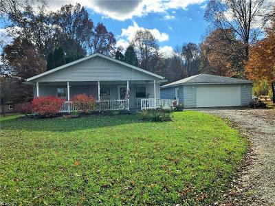 Single Family Home For Sale: 9602 Tallmadge Rd