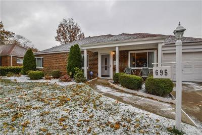 Euclid Single Family Home For Sale: 695 Birch Ave