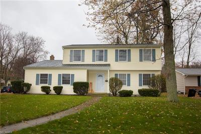 North Olmsted Single Family Home For Sale: 3857 Bristol Ln