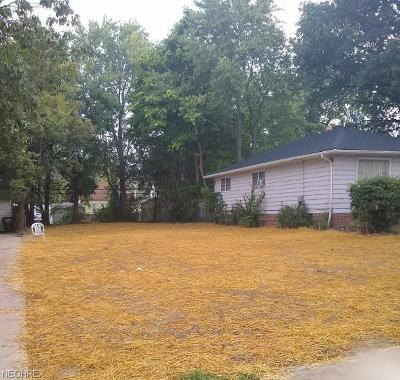 Cuyahoga County Residential Lots & Land For Sale: 19215 Harvard Ave