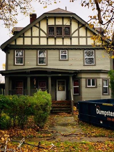 Cuyahoga County Multi Family Home For Sale: 9820 South Blvd